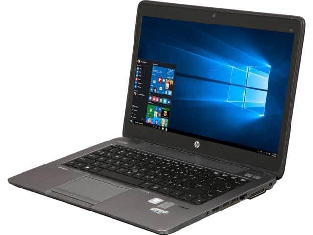 "(Refurbished Grade B) 14"" HP EliteBook 840 G1 Laptop: Intel Core i5-4300U, 8GB RAM, 128GB SSD, Win 10 Pro $160 + Free Shipping @ Newegg $160.19"