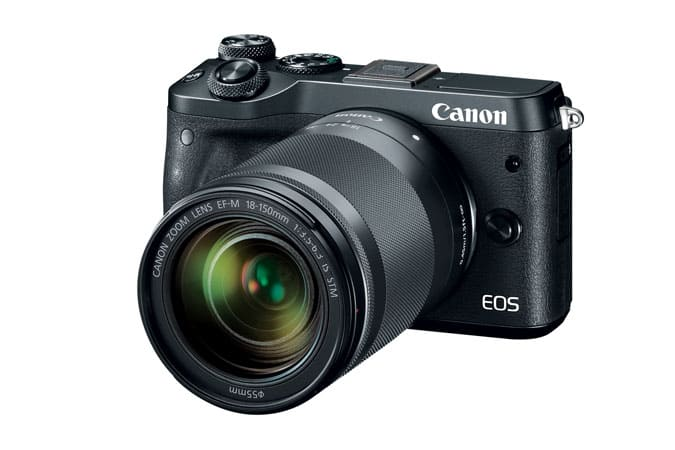 (Refurbished) Canon EOS M6 EF-M Camera + 18-150mm f/3.5-6.3 IS STM Lens Kit $559; M5 + 18-150mm $629 + Free Shipping $559.2
