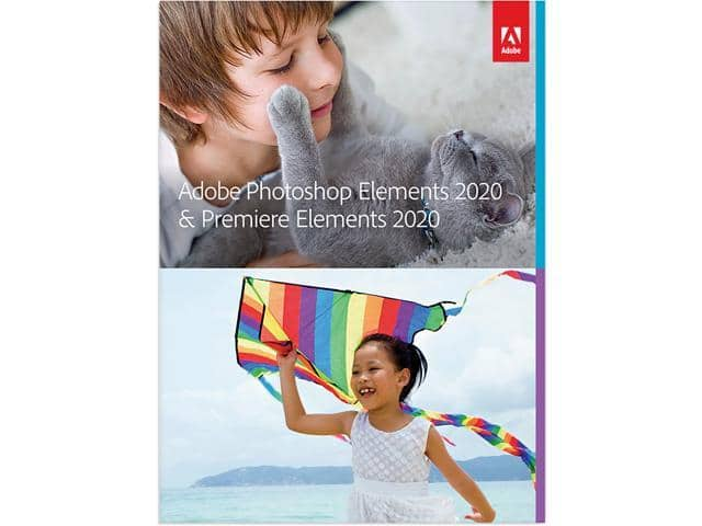 Adobe Photoshop & Premiere Elements 2020 for Mac or Windows (Download) $69.99 @ Newegg