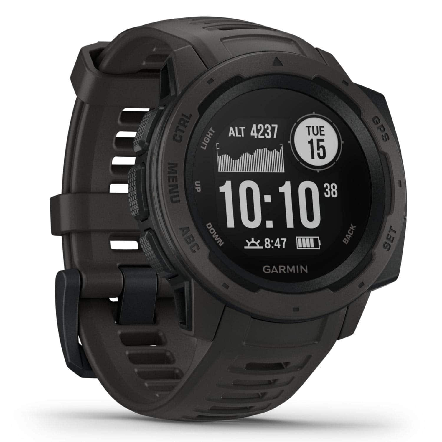 Garmin Instinct GPS Watch (various colors) , $199.99 @REI & Amazon with free shipping