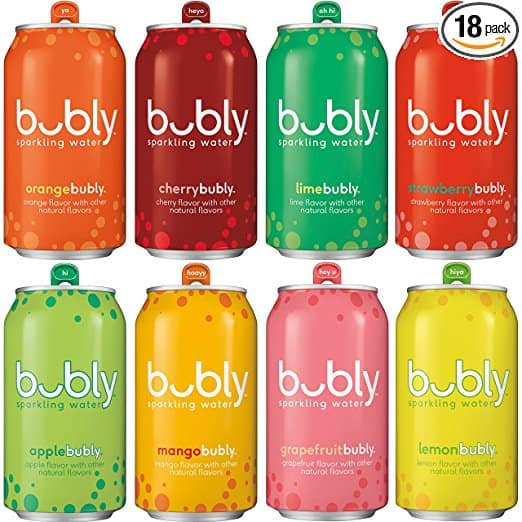 25% Off Bubly Sparkling Water Sampler Variety Pack, All 8