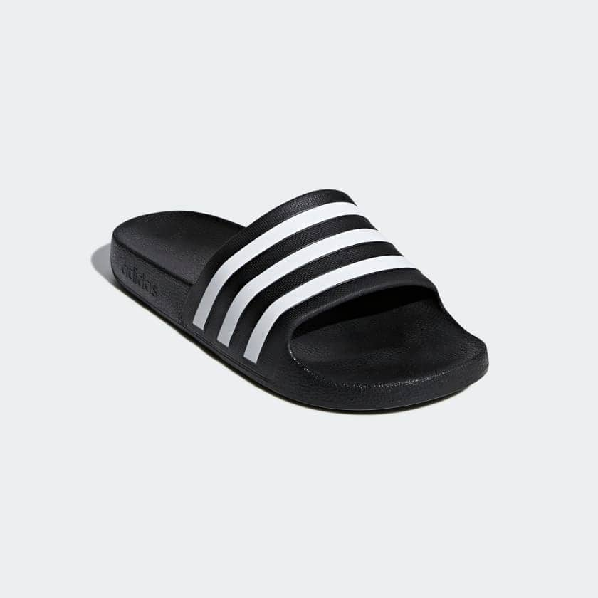 adidas Adilette Aqua Slides (Core Black/Cloud White) EXPIRED