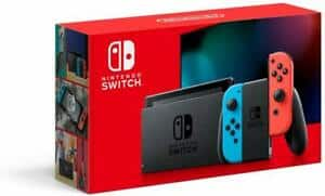 Nintendo Switch with Neon Blue and Neon Red Joy‑Con $284.99 (Newest Model)