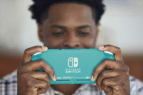 Nintendo Switch Lite, 3 Colors | bundled with Protective Case, 8-Game Cart Slot $204.99