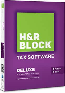 H&R Block 2014 Tax Year Software $10-$25 YMMV