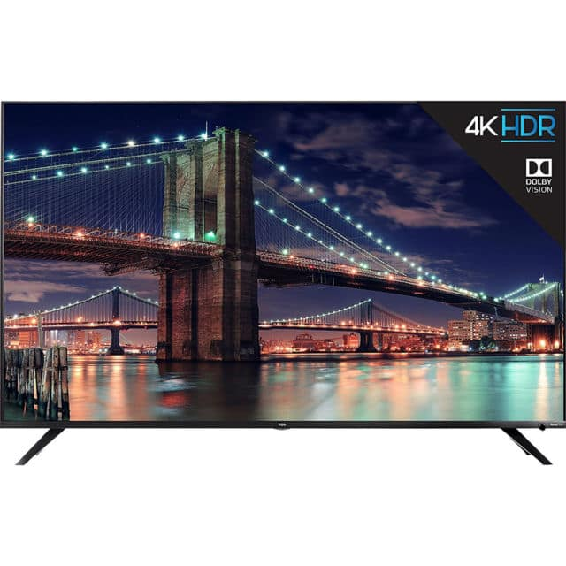 "TCL 55R617 55"" Class Smart LED 4k Ultra HDTV With Roku TV $649.99"