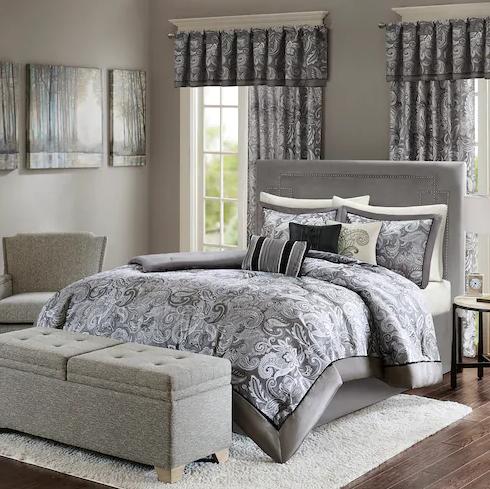 $78.17 Madison Park Elsa 7-piece Comforter Set