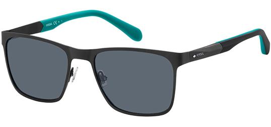 Fossil Matte black Thin Metal Square Sunglasses $20 +FS, also Womens for $10