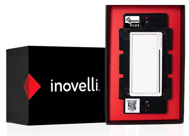 Inovelli Black series Zwave dimmer switch and 4-in-1 multi sensors $25