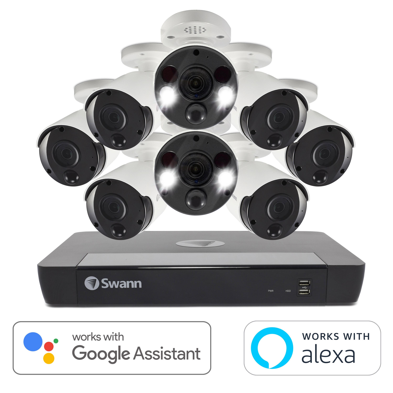 $799.99 - Swann 16-Channel 4K Ultra HD NVR Security System