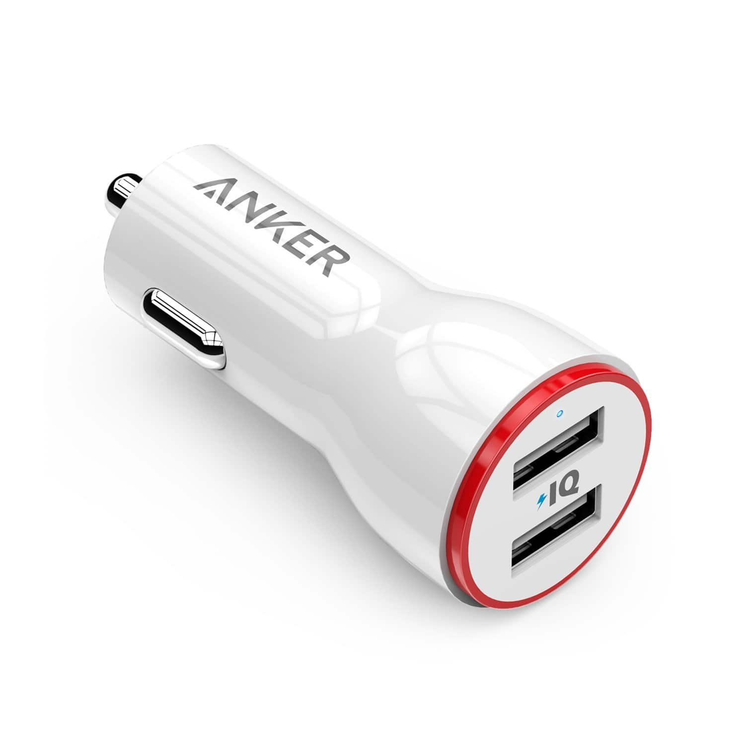 37% off on Anker 24W Dual USB Car Charger $7.58