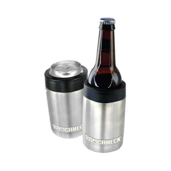 """Roughneck Vacuum Sealed Copper Insulated Stainless Steel """"Koozie"""" (Keep can/bottle cold) $4.99 ea or $3.99 ea when ordering 6 or more!"""