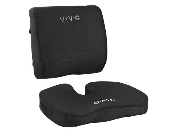 Memory Foam Seat Bottom and Back Cushion Combo (Woot) ($20.99)