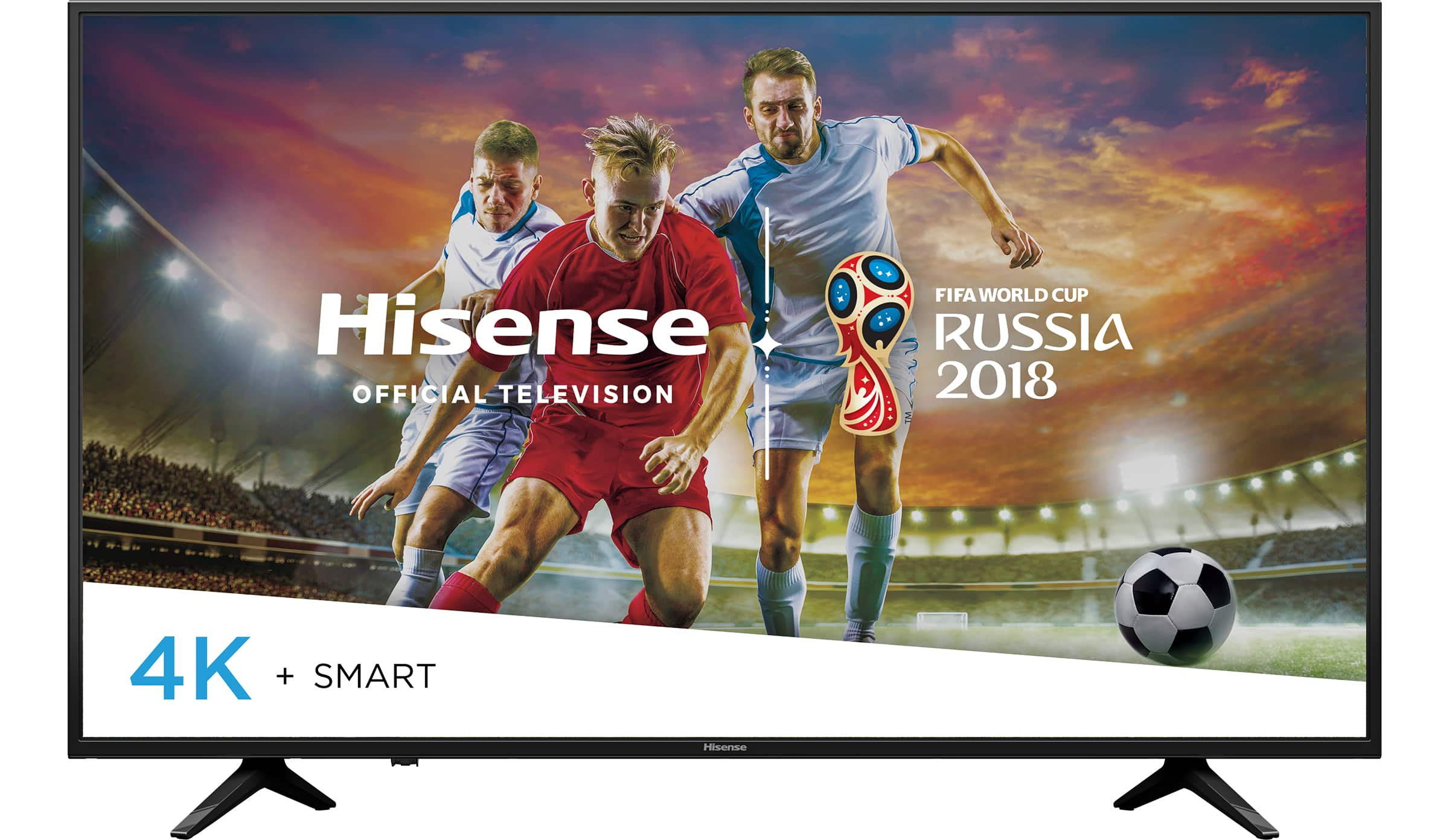 "Hisense 55"" Class (54.6"" diag.) UHD (2160P) Smart DLED TV (55H6E)  51%off ($184) in store pickup"