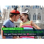 RARE OPPORTUNITY: Disney World & Disneyland Tickets & Annual Passes 20% OFF On Orbitz + Free Days