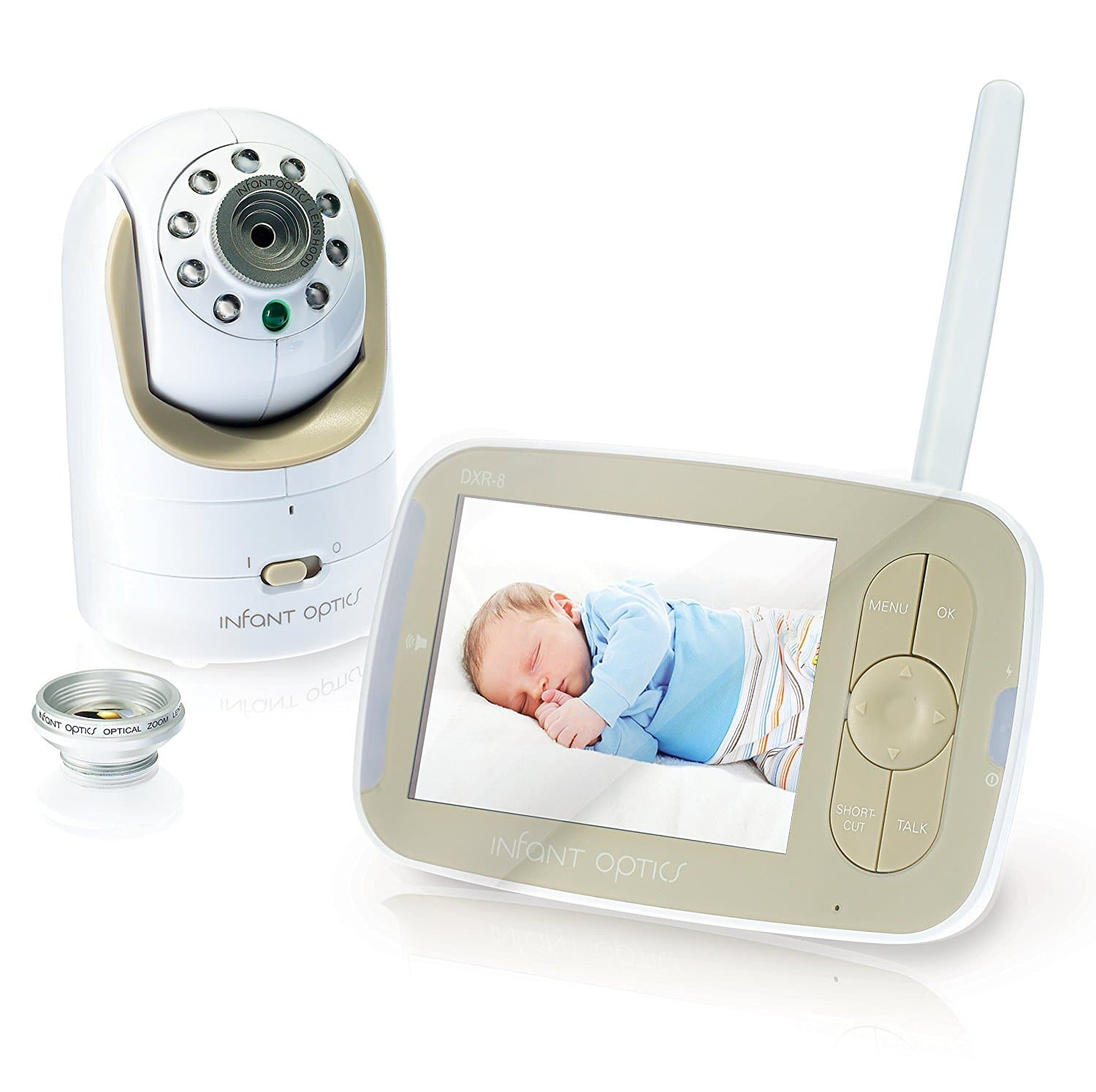 DEAL STILL ALIVE NOT EXPIRED!! Infant Optics DXR-8 TOP RATED RF Video Baby Monitor CHEAPEST PRICE EVER---$127.49 FS