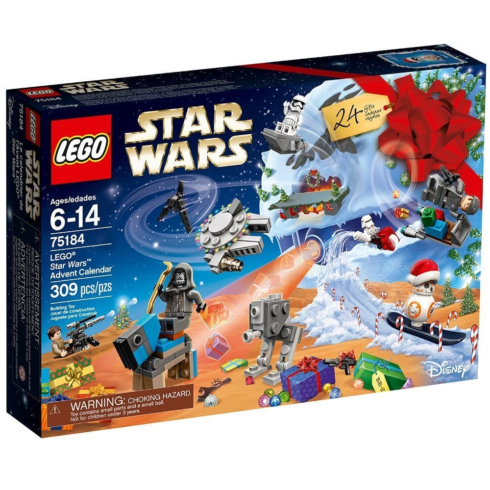 $5+ off 2017 LEGO Star Wars Advent Calendar (75184) at Amazon, Walmart, and Target $34.99