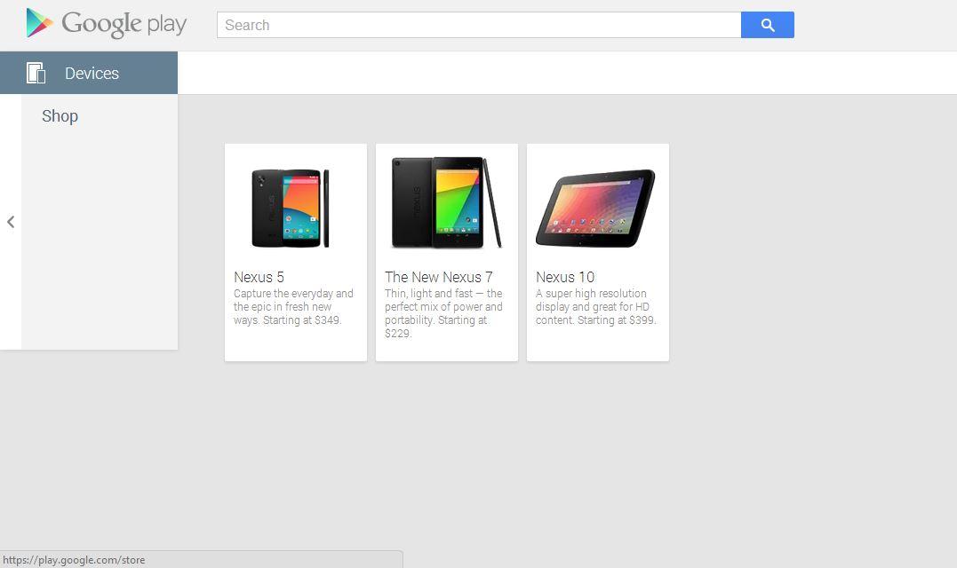 Nexus 5 at Google Play ****NOW LIVE**** Starting at $349