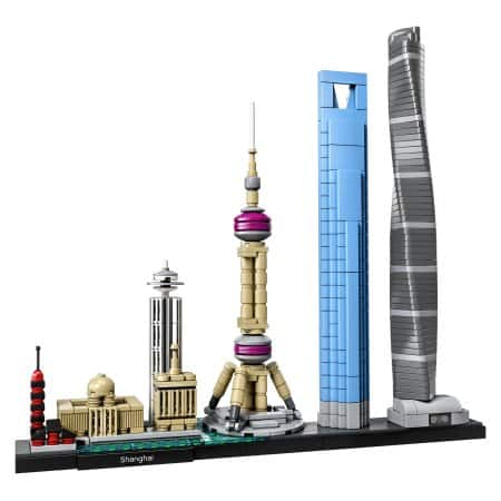 LEGO Architecture Shanghai 21039 - $47.99 at Walmart 20% off
