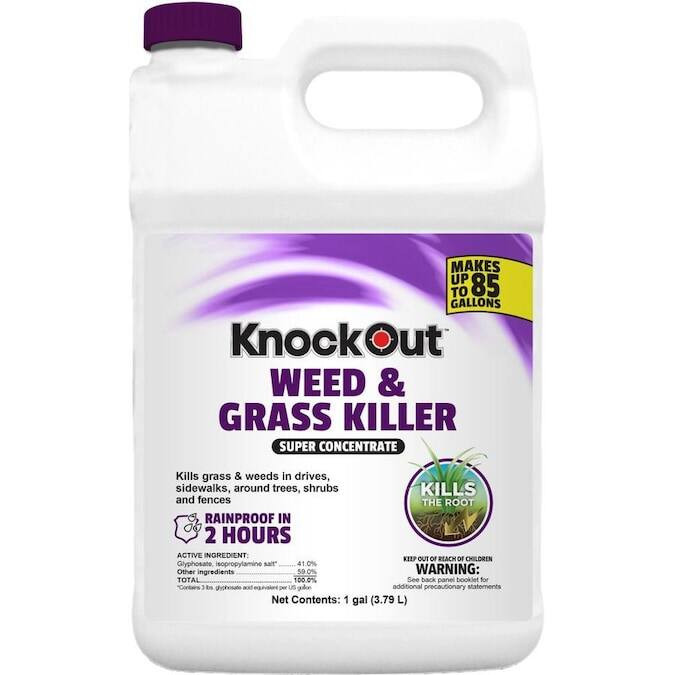 Knockout Weed and Grass Killer Super Concentrate 1 gallon $10 YMMV Reg. $54