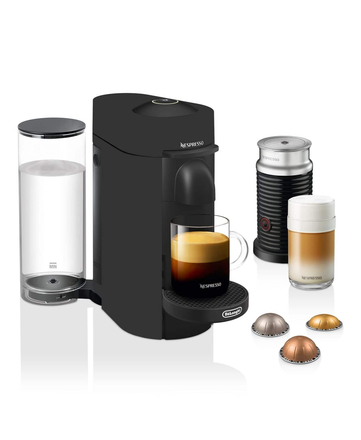 Nespresso  VertuoPlus Coffee and Espresso Maker with frother $99