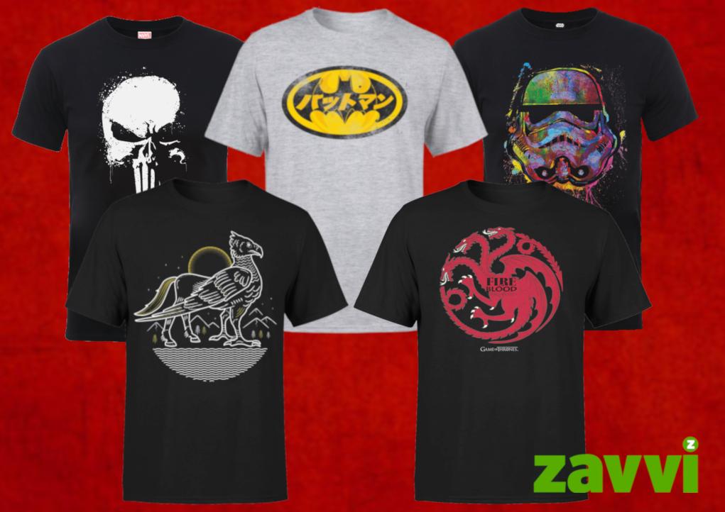 30% Off Geek Clothing - $9.44 - Free Shipping @ Zavii