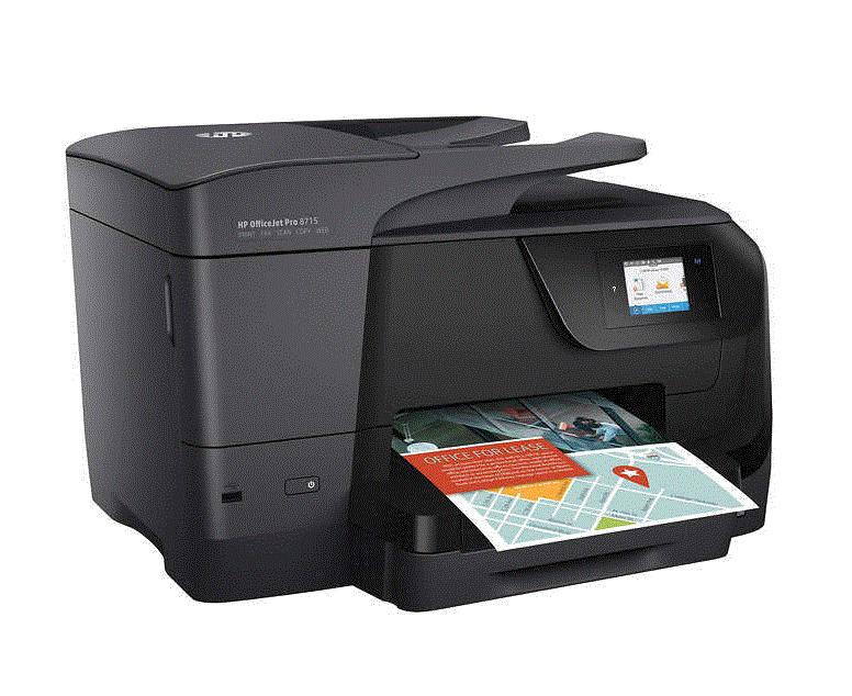 Costco- HP Officejet Pro 8715 All-in-One Color Inkjet Printer - $99.99