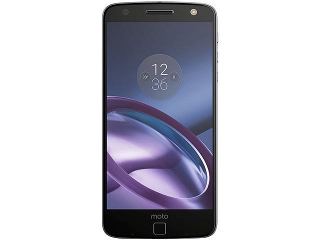 Moto Z 64GB Lunar Gray Unlocked Smartphone with Free JBL Speaker, Power Pack & Incipio Car Dock Moto Mods $429.99