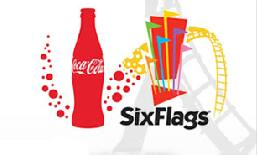 image relating to Six Flags Printable Coupons named Coke benefit - 6 Flags tickets on the net - Discounted versus $16