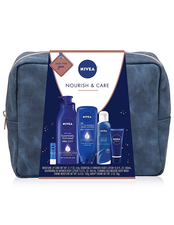 5-Piece  NIVEA Pamper Time Gift Set $12.51