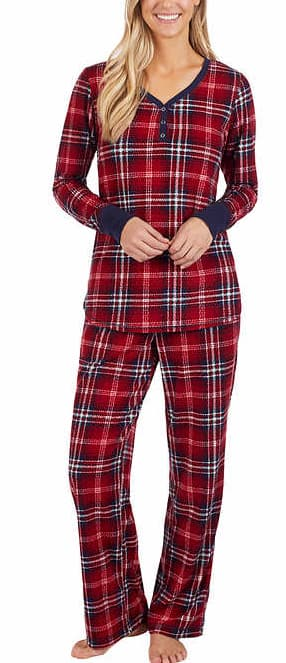 2-Piece Ladies' Pajama Set (4 Colors) + Free Shipping $12.99