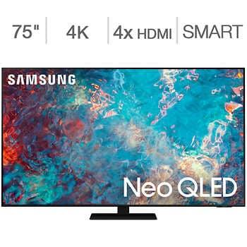 Samsung NEO QLED QN85A  + 5 yr warranty +$65 streaming credit  $2299.99