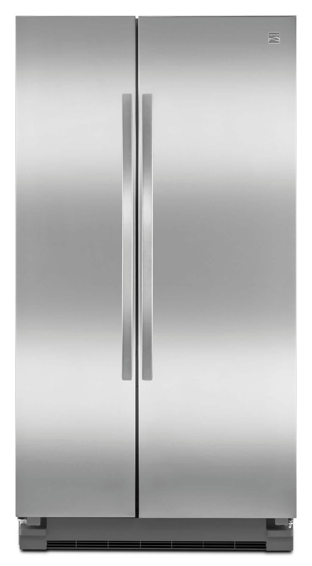 Kenmore 25.2 cu. ft. Side-by-Side Stainless Steel Refrigerator $799.99 w/ Free Delivery at Sears.com