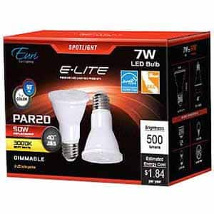 SF BAY AREA ONLY - Euri Light Bulbs PAR 20 2-Pack LED $0.64 cents (JA8, CEC, Energy Star) Fry's In-Store Only $0.64