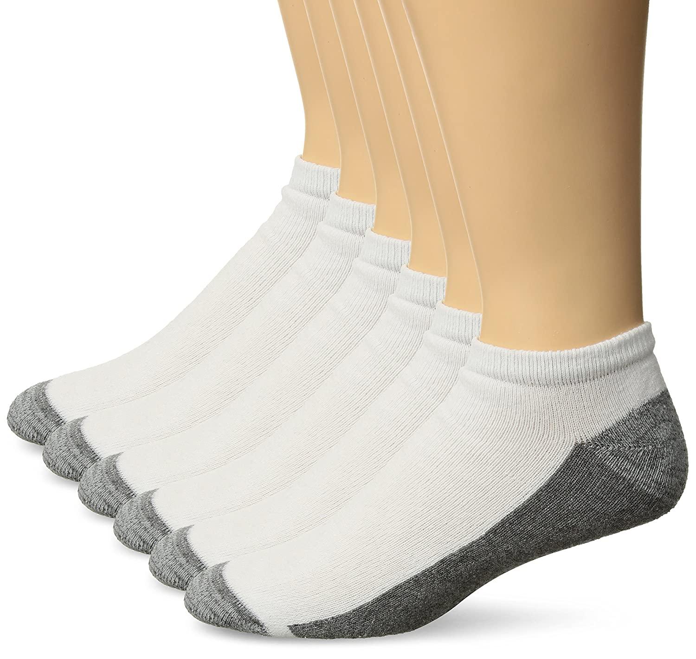 6-Pack Hanes Men's Comfortblend Max Cushion Low Cut Socks - $7