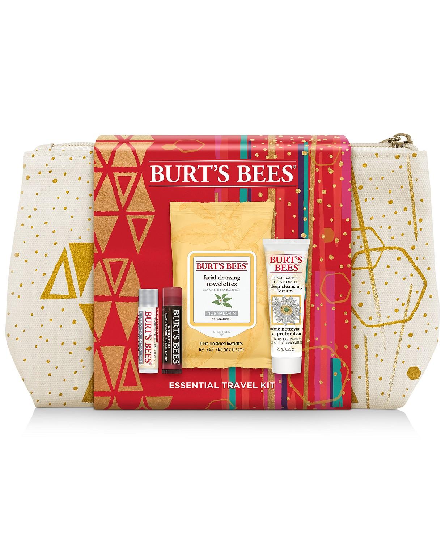 Burt's Bees 5-Pc. Essential Travel Set - $8.93