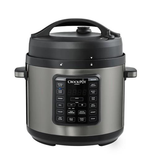 Kohls Cardholders: Crock-Pot Express 6-qt. Black Stainless Pressure Cooker - $29.99