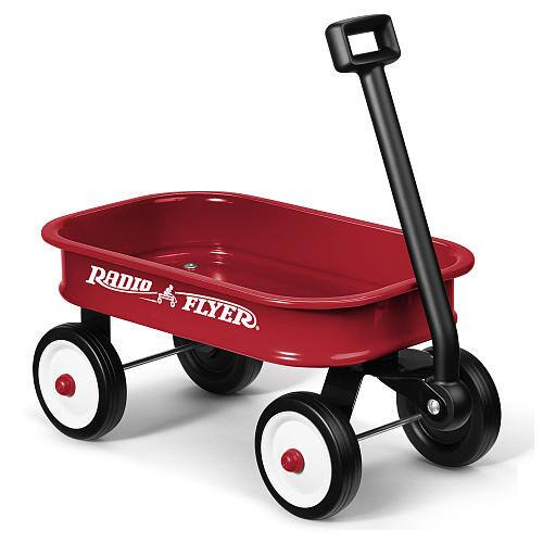 Radio Flyer Little Toy Wagon (Red) - $9.97