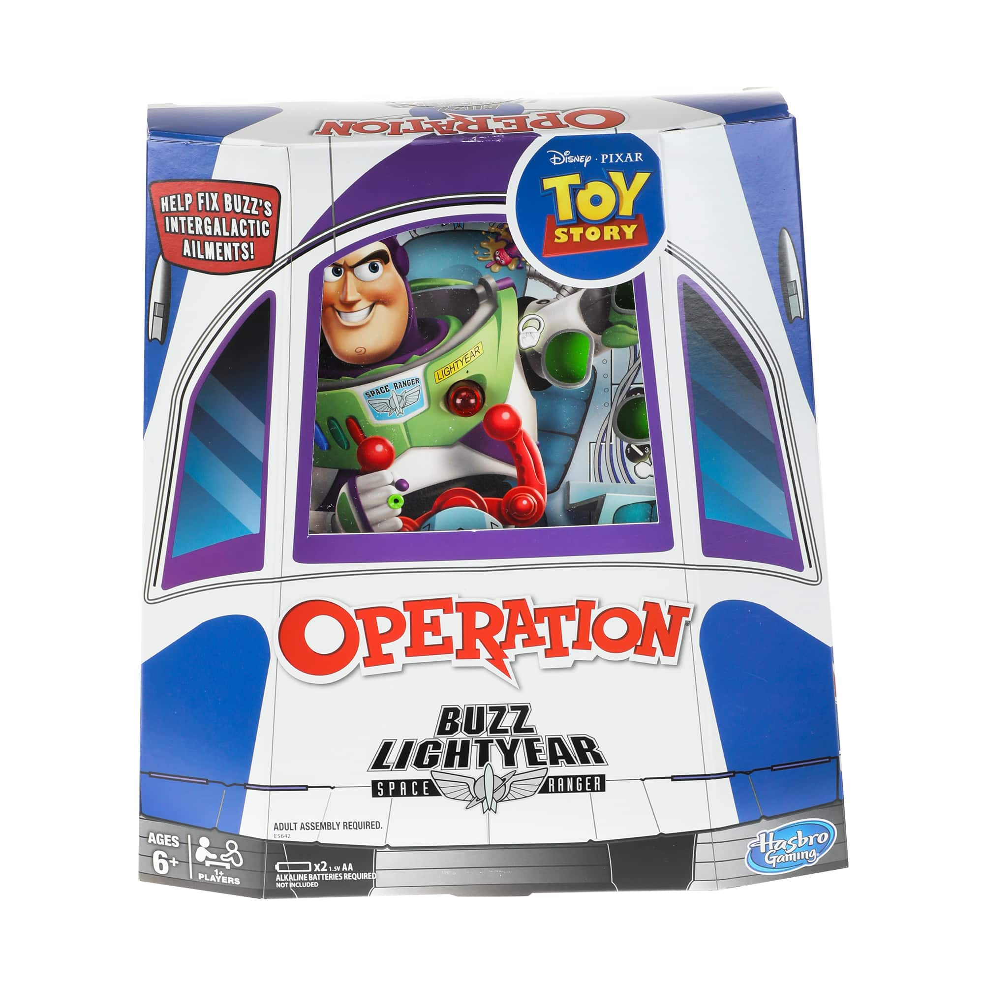 Operation: Disney/Pixar Toy Story Buzz Lightyear Board Game - $6.88 + Free Store Pickup