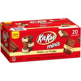Sams Club Members: 20 count Kit Kat Minis (1.15oz) Frozen Dessert Bars - $5.98 + Free Store Pickup
