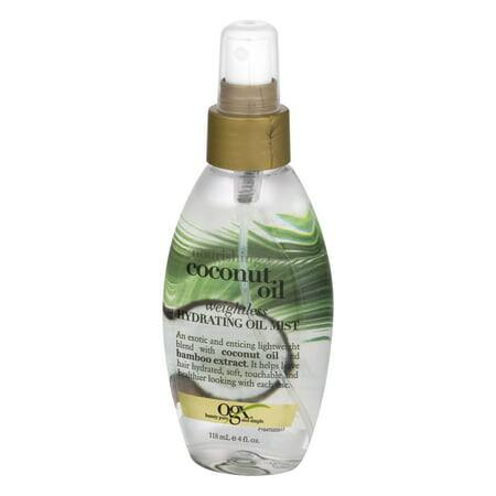 4oz OGX Nourishing Coconut Oil Weightless Hydrating Oil Mist - $4.64 with S&S