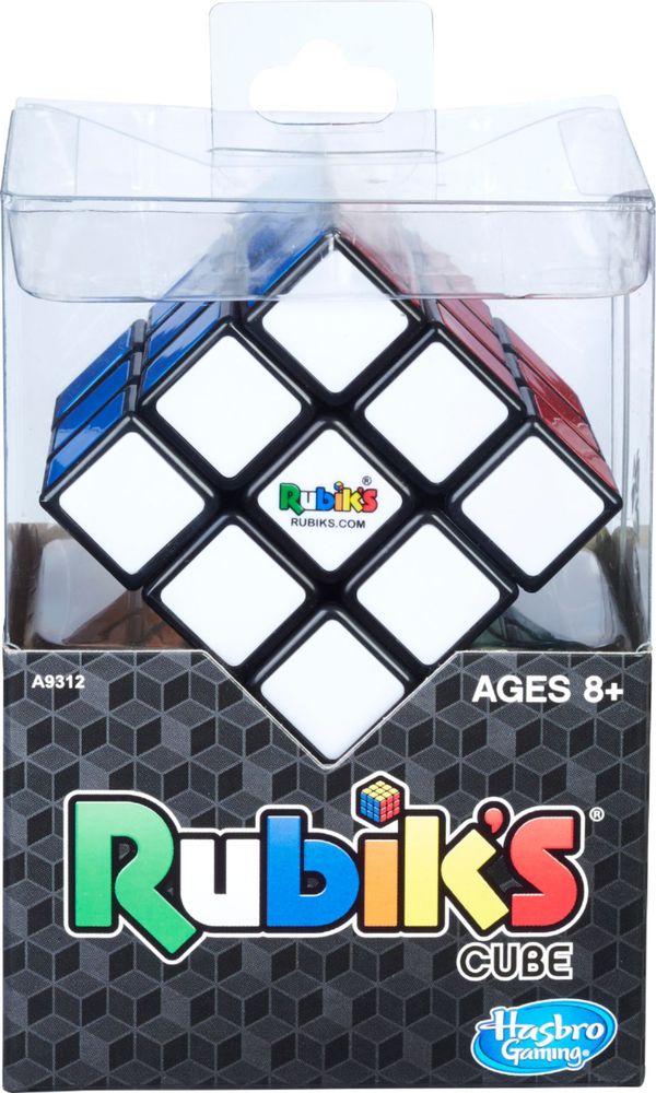 Hasbro Gaming Rubik's 3X3 Cube, Puzzle Game - $4.49