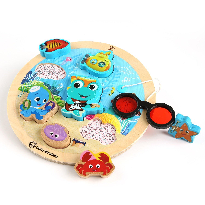 Baby Einstein Submarine Adventure Wooden Puzzle Toddler Toy - $6