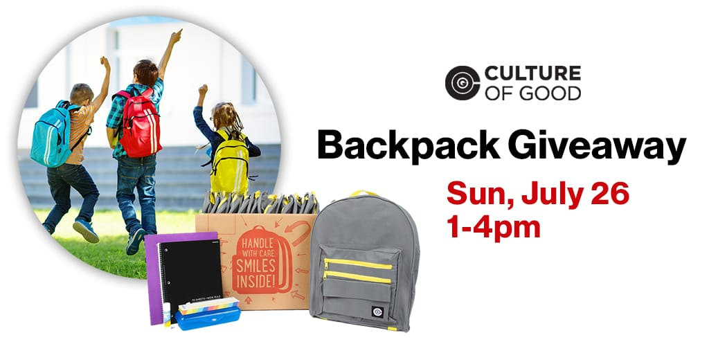 Free Backpack Giveaway at Verizon Wireless Zone Stores