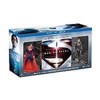 Amazon Deal: Man of Steel Collectible Figurine Limited Edition Gift Set (Blu-ray + DVD + Ultra Violet Combo) $15.22 @ Amazon!