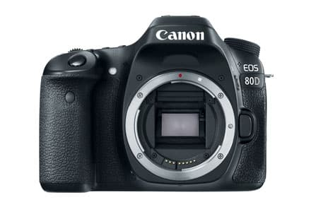 Out of Stock Expired- Canon EOS 80D Refurbished DSLR Body Only $799.19 + Free Ship from Canon USA