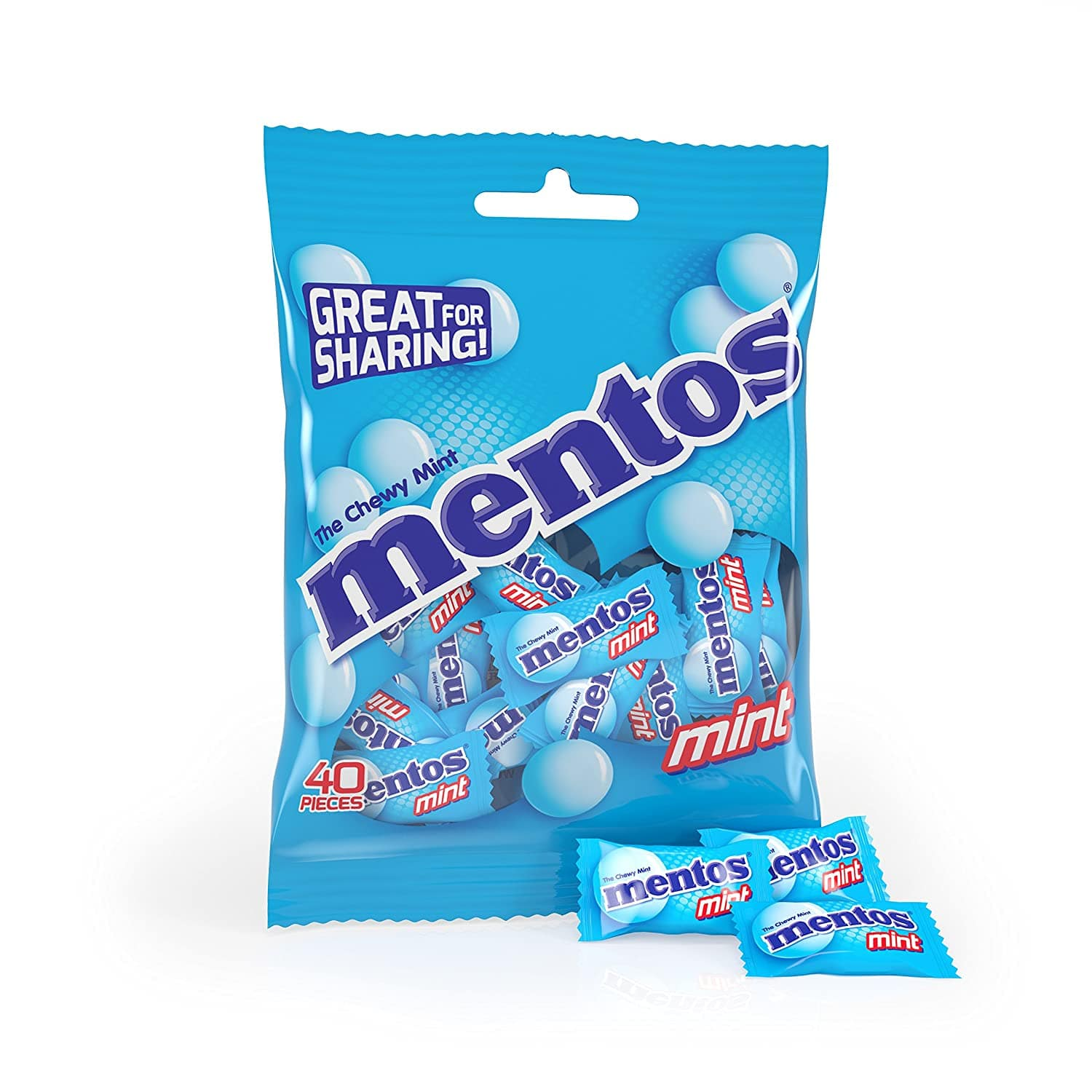 12-pack Mentos Chewy Mint Candy (40-piece Bags) - $13.29 with S&S