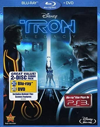 Tron: Legacy (Two-Disc Blu-ray/DVD Combo) $7