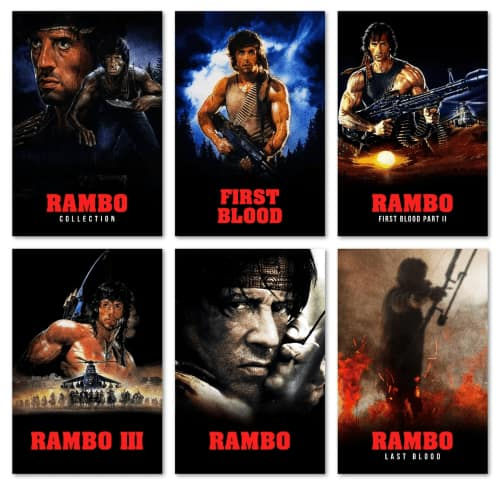 Rambo: The Complete 5-Film Collection Digital UHD via iTunes $20