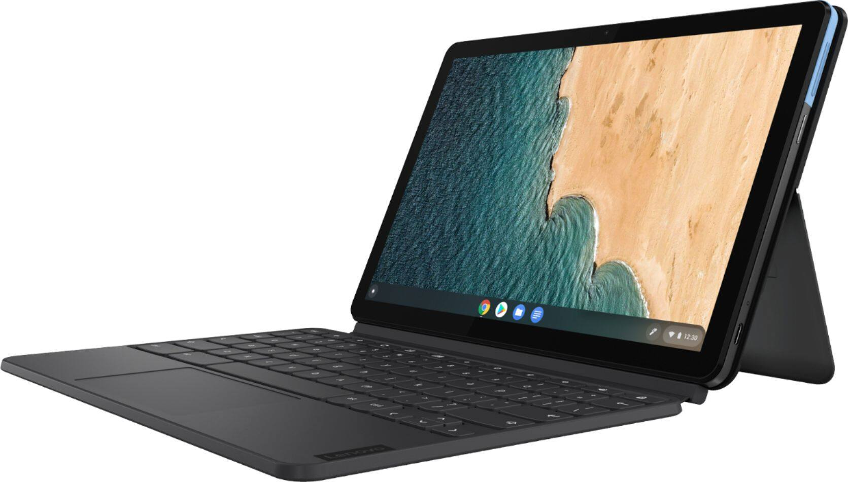 Lenovo Duet Chromebook (10.1, 128GB with Keyboard) - Open-Box Excellent Certified - $262.99 shipped